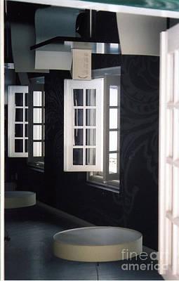 White Windows Art Print by Andrea Simon