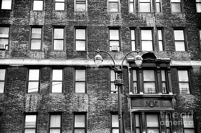 Photograph - White Windows In The City by John Rizzuto