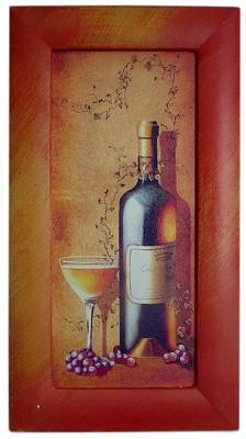 White Wine Art Print by The Art Markets
