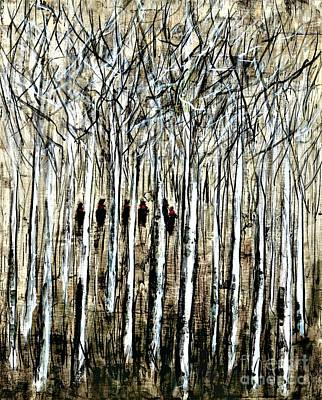 Painting - White Winter Hymnal  by Allison Constantino