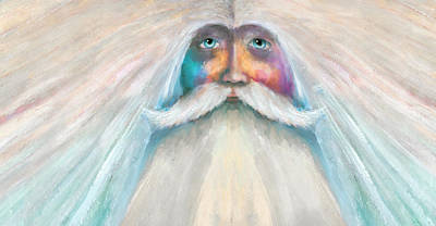 Painting - White Wizard by Rick Mosher