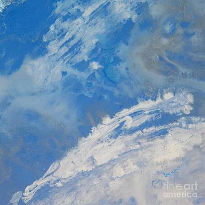 Painting - Whitecaps by Corinne Elizabeth Cowherd