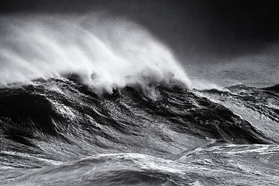Photograph - Whitecaps by Nicholas Blackwell