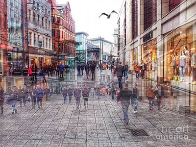 Photograph - Whitechapel In Motion by Joan-Violet Stretch