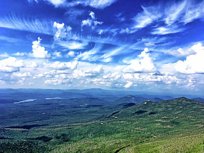 Photograph - Whiteface Mountain View #1 by Janet E Gorman