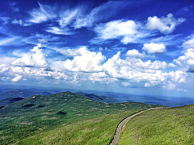 Photograph - Whiteface Mountain View #2 by Janet E Gorman