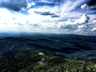 Photograph - Whiteface Mountain View #4 by Janet E Gorman