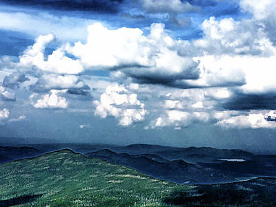 Photograph - Whiteface Mountain View #5 by Janet E Gorman