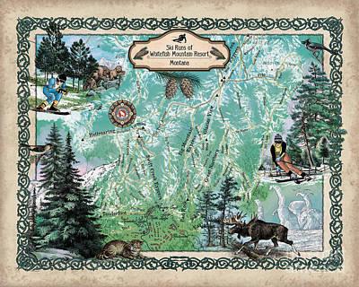Painting - Whitefish Mountain Resort by Lisa Middleton