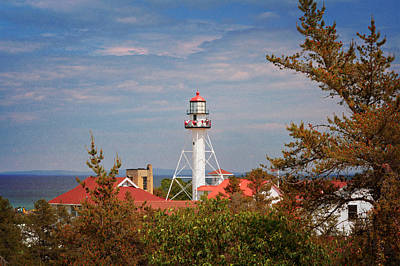 Photograph - Whitefish Point Light Station by Susan Rissi Tregoning