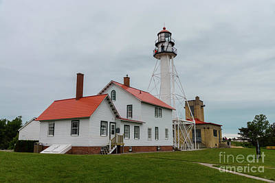 Photograph - Whitefish Point Lighthouse by Jennifer White