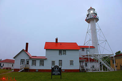 Photograph - Whitefish Point Lighthouse by Michael Rucker