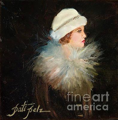 Painting - Whitefur by Pati Pelz