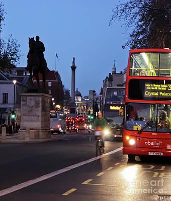 Photograph - Whitehall To Trafalgar Square by Terri Waters
