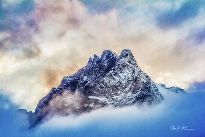 Photograph - Whitehorse Colorful Clouds by Charlie Duncan