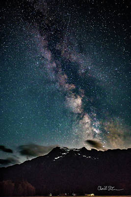 Photograph - Whitehorse Milky Way by Charlie Duncan