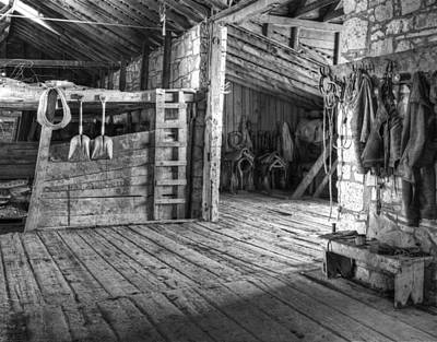 Old West Photograph - Whitehorse Ranch 3 by Ron Schwager