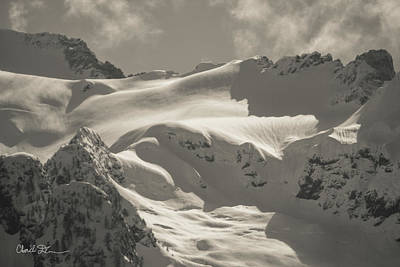 Photograph - Whitehorse Snowfield by Charlie Duncan