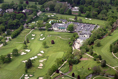 Whitemarsh Valley Country Club Art Print by Duncan Pearson