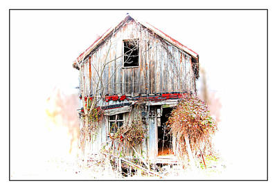 Whiteout In Opequon Art Print