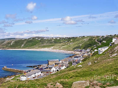 Whitesand Bay Cornwall Print by Terri Waters