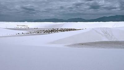 Photograph - White_sands by Kent Nancollas