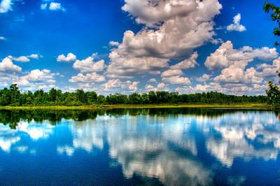 Lanscape Digital Art - Whitesbog New Jersey by Louis Dallara