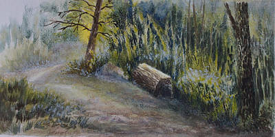 Painting - Whiteshell Trail by Joanne Smoley