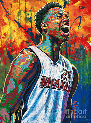 Painting - Whiteside Celebrates by Maria Arango