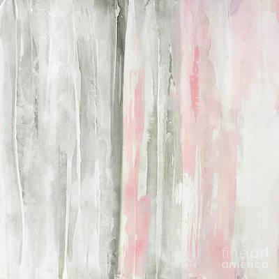 Wall Art - Painting - Whitewashed Blush 1 by Chris Paschke