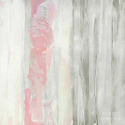 Wall Art - Painting - Whitewashed Blush 2 by Chris Paschke