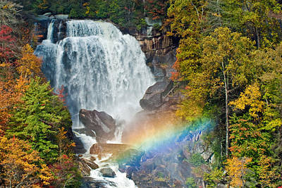 Photograph - Whitewater Falls by David Freuthal