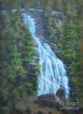 Painting - Whitewater Falls I by Phyllis Andrews
