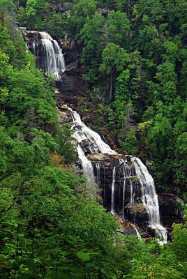 Photograph - Whitewater Falls, North Carolina by James Kirkikis