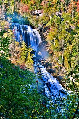 Photograph - Whitewater Falls North Carolina Vertical by Lisa Wooten