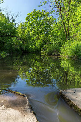 Unicorn Dust - Whitewater River Scene 37 B by John Brueske