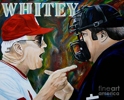 Painting - Whitey by Terry  Hester