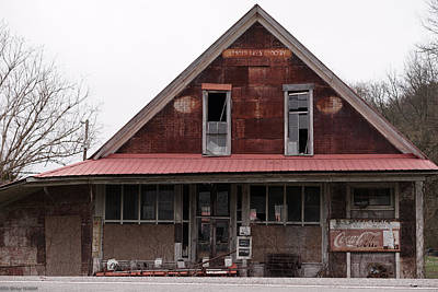 Photograph - Whitleyville Store And Post Office by Nick Kirby