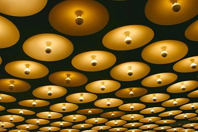 Photograph - Whitney Museum Ceiling by Polly Castor