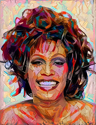 Painting - Whitney by Paul Van Scott