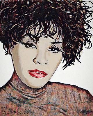 Digital Art - Whitney by Pennie McCracken