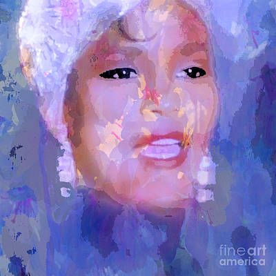 Painting - Whitney by Saundra Myles