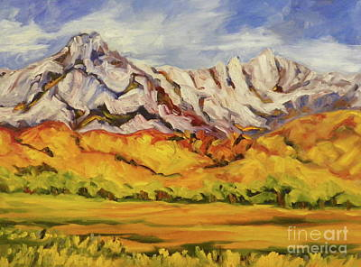 Whitney View Art Print by Pat Crowther