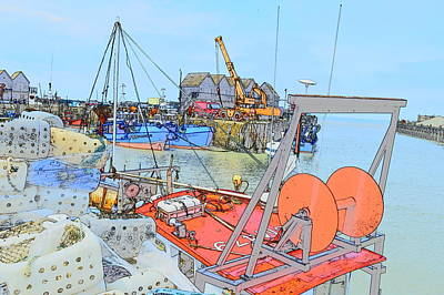 Photograph - Whitstable Harbour 11 by Wendy Le Ber