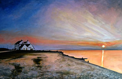 Painting - Whitstable Old Neptune by Paul Mitchell