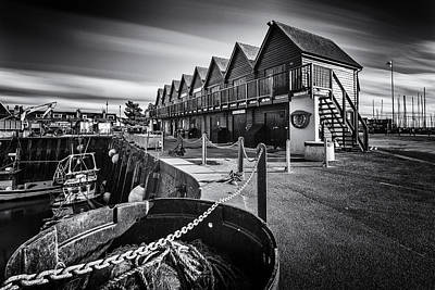 Whitstable Oysters Print by Ian Hufton