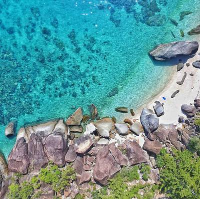 Photograph - Whitsundays Aerial View by Keiran Lusk