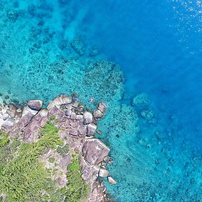 Photograph - Whitsundays Beauty From The Air by Keiran Lusk
