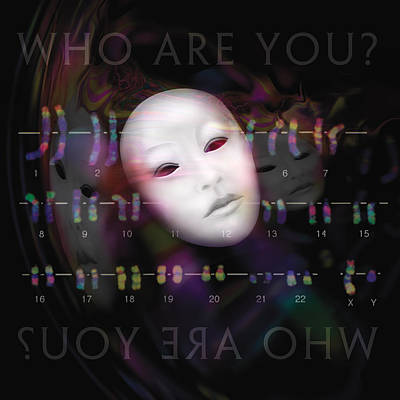 Digital Art - Who Are You? by Judith Barath