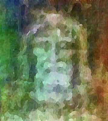 Who Do Men Say That I Am - The Shroud Art Print by Glenn McCarthy Art and Photography